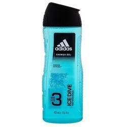 Adidas ice dive żel pod prysznic 400ml - coty od 24,99zł darmowa dostawa kiosk ruchu marki Pozostali