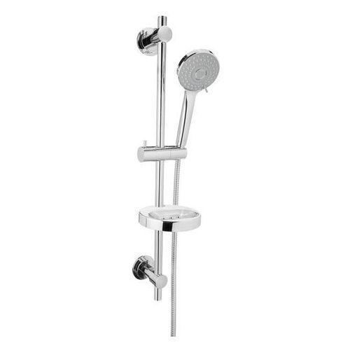 Invena Milos drążek prysznicowy ze słuchawką AU-21-P01-L