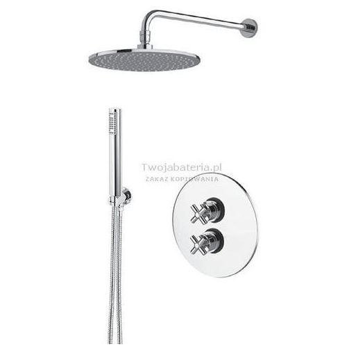 edos kompletny zestaw prysznicowy termostatyczny deszczownica słuchawka eds20termo marki Mz