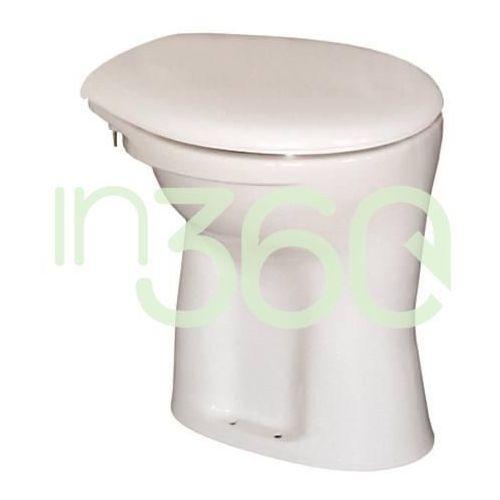 Ideal standard ecco/eurovit miska wc stojaca z półką odpływ pionowy biała v311501