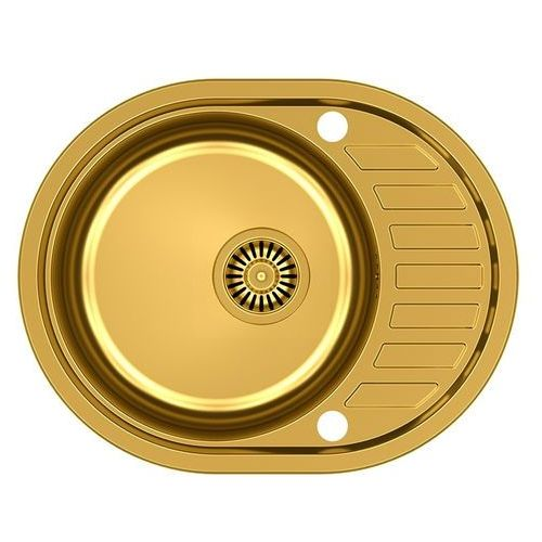 Quadron Zlewozmywak clint 211 hb7112g1k-bw7002g1 złoty + bateria ingrid + darmowy transport! (5903242532092)