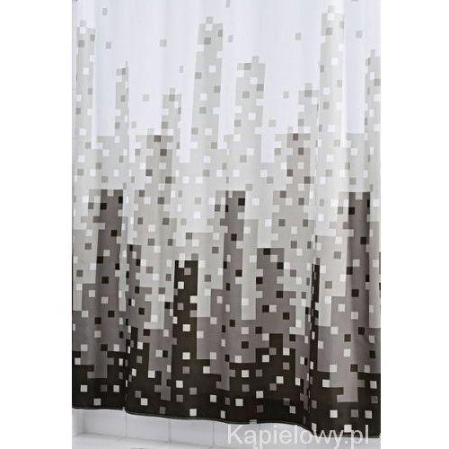 SKYLINE poliestrowa zasłona prysznicowa 180x200 cm 47367, 47367