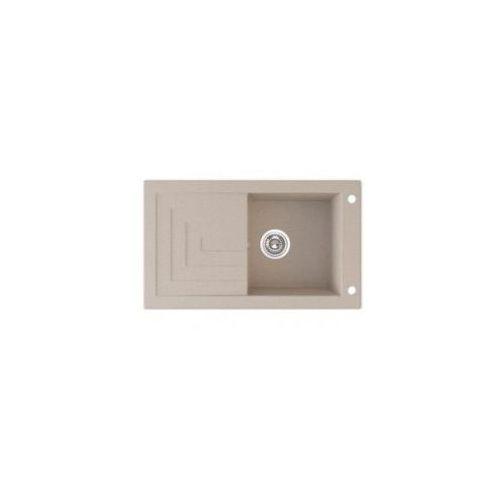 LAVEO JAWA Zlewozmywak granitowy 78x46x17cm, beżowy SGW 411T, SGW411T