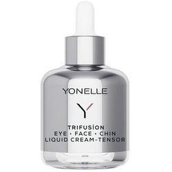 Trifusion eye face chin liquid cream tensor płynny krem napinacz pod oczy na twarz i podbródek 50ml - darmowa dostawa kiosk ruchu marki Yonelle