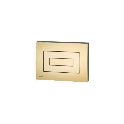 Alcaplast Przycisk spłuczki podtynkowej, złoty m475