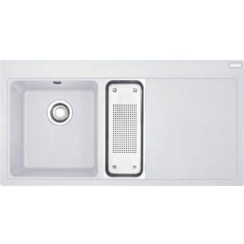 Franke Zlew mtg 651-100 komora z lewej biały polarny 114.0158.644 (zamów wycięcie otworów gratis) (7612980457670)