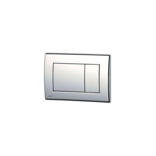Przycisk spłuczki podtynkowej, chrom-połysk m271 marki Alcaplast