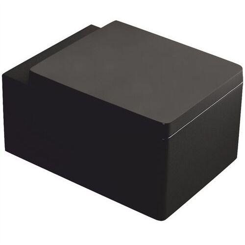 Miska wisząca WC w kolorze czarnym z deską Thor 26 Kerra