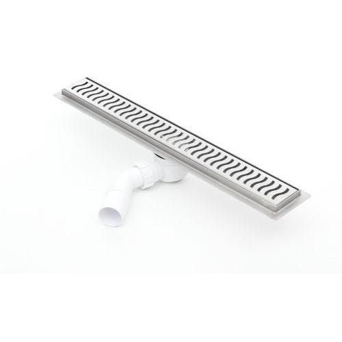 Odpływ liniowy Kesmet Silver Wave 1100KF_p 110 cm (syfon plastik)