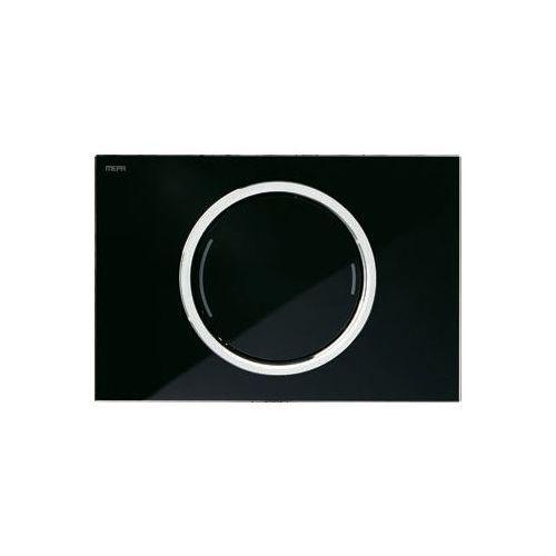 Mepa zero ozdobny 2-ilościowy przycisk czarny