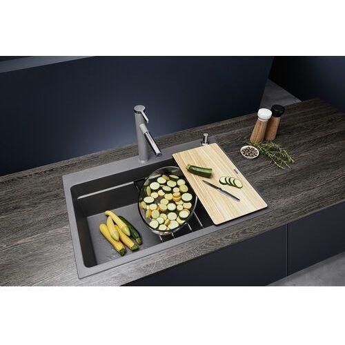 Blanco etagon 8 silgranit puradur biały, infino, szyny - biały połysk \ manualny