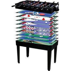 Mks Multigra 15w1 stół piłkarski bilard tenis poker - czarny (4048821603280)