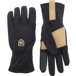 Hestra Merino Windwool Liner Gloves, czarny/beżowy 8 2021 Rękawiczki wewnętrzne (7332904083814)
