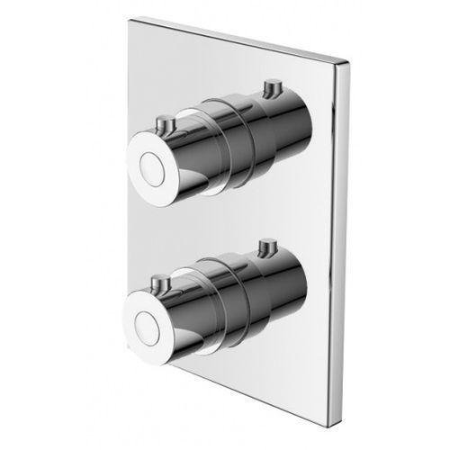 term bateria termostatyczna podtynkowa z przełącznikiem chrom ter–bpd.kw.220c marki Art platino