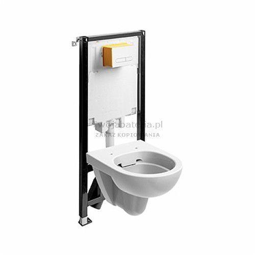 Koło Nova Pro zestaw WC Slim2 miska WC owalna Rimfree 99644000