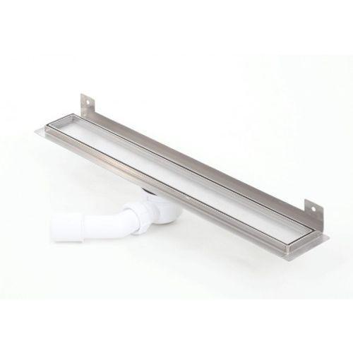 wall silver ceramic tile odpływ ścienny 800kwf_p 800mm (syfon plastikowy) marki Kesmet