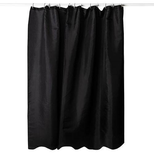 Koopman zasłona prysznicowa czarny, 180 x 180 cm marki 4home