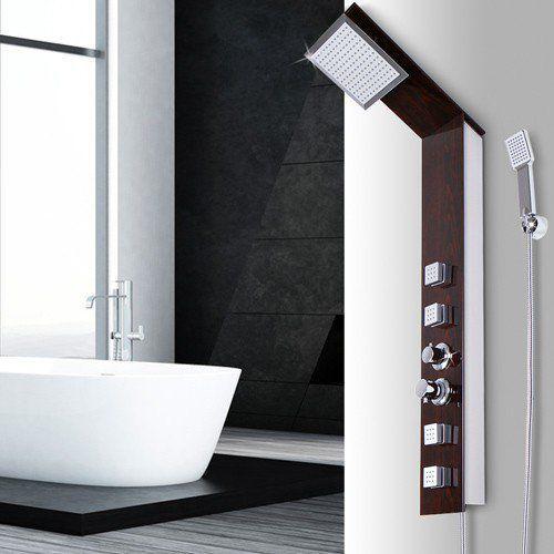 Panel prysznicowy z hydromasazem 4 dysze marki Lagis