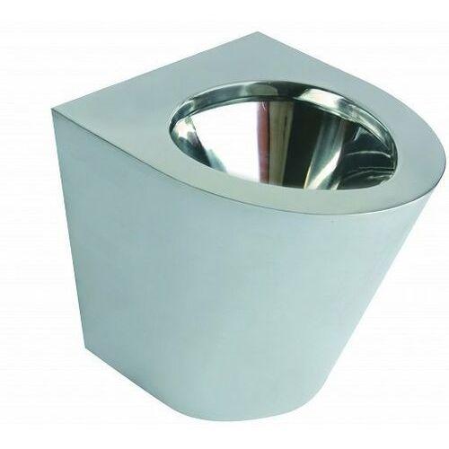 Faneco Miska wc n13012.s stojąca ze stali nierdzewnej