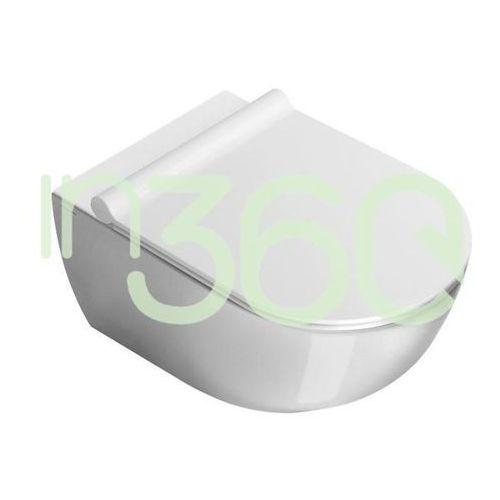 sfera miska wc wisząca 35x54 +śruby mocujące (5kfst00) biała 1vsf5400 marki Catalano
