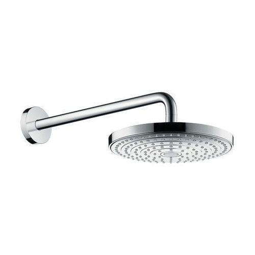 głowica prysznicowa, 2 strumienie, z ramieniem prysznicowym 390 mm raindance select 26466000 marki Hansgrohe