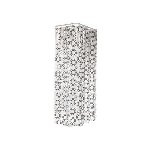 Zasłonka prysznicowa circolo 180 x 200 cm marki Sealskin