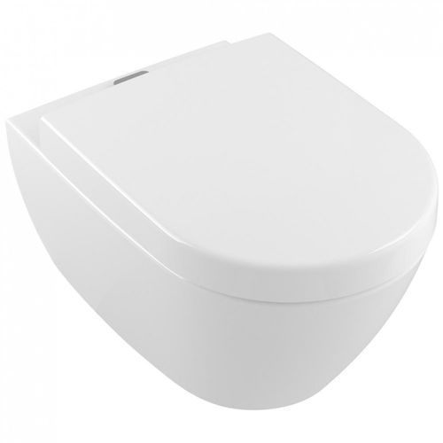 muszla wisząca bezrantowa direct flush z pojemnikiem na kostki vifresh 37x56 cm subway 2.0 5614a101 marki Villeroy&boch