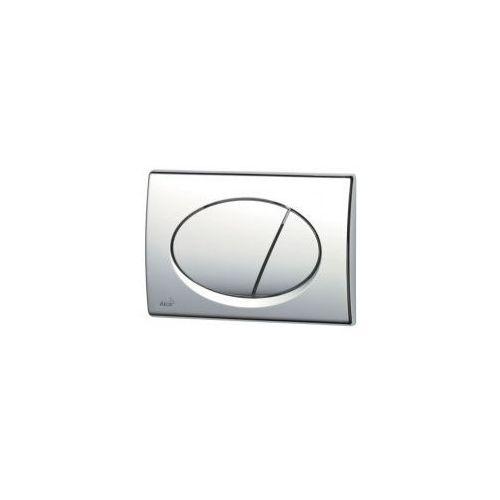 Przycisk spłuczki podtynkowej, chrom-połysk m71 marki Alcaplast