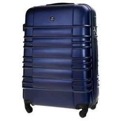 Średnia walizka podróżna m stl838 granatowa (5900718506250)