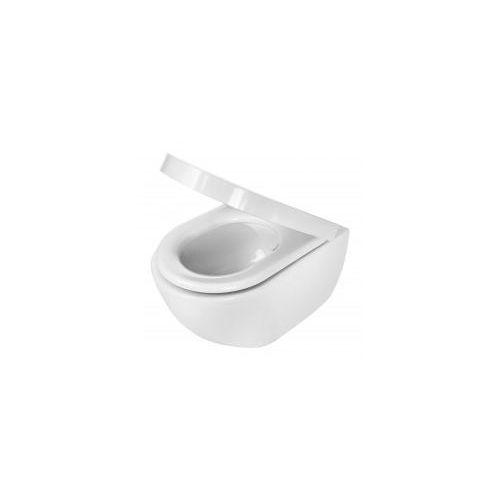 peonia zero miska wc bezkołnierzowa typu rimless cde 6zpw marki Deante
