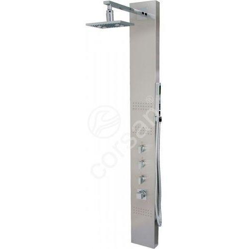 panel prysznicowy z termostatem s-060 neo led t marki Corsan