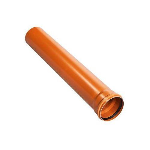 Drewplast Rura kanalizacyjna zewnętrzna kz 110 1m