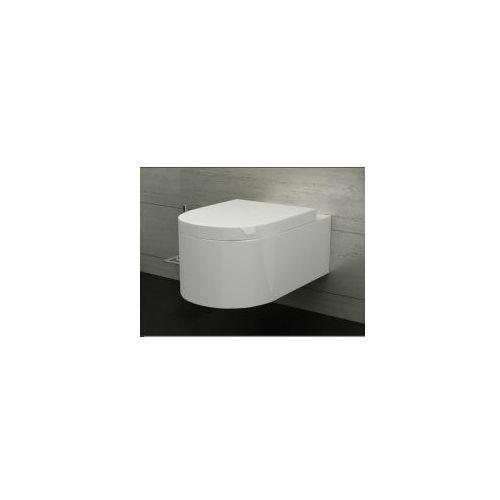OLIVIA Miska WC wisząca + deska wolnoopadająca