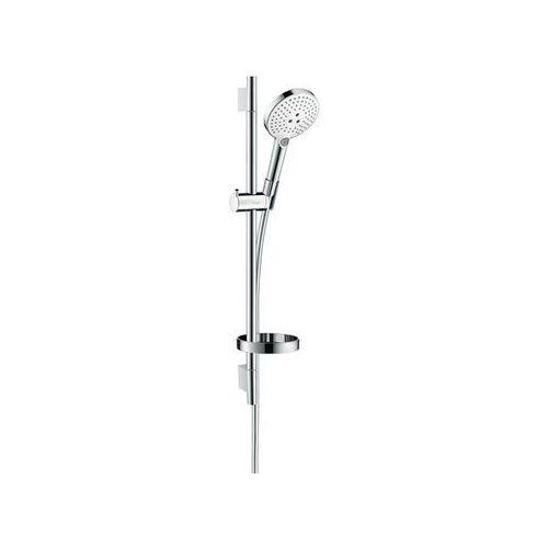 Hansgrohe zestaw prysznicowy Raindance Select S chrom/biały 26630400