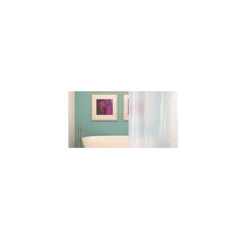 Awd interior zasłonka prysznicowa 3d przezroczysta awd02101425