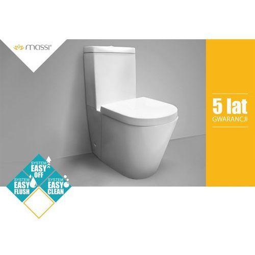 Kompakt WC LOCA NANO+DESKA Massi