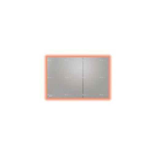 Przycisk spłuczki podtynkowej z podświetleniem, metal-mat air light marki Alcaplast
