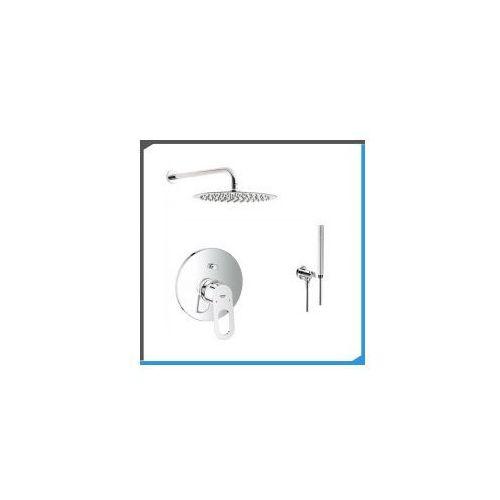Zestawy Podtynkowy zestaw prysznicowy z baterią grohe bauloop 29081000, chrom zest30