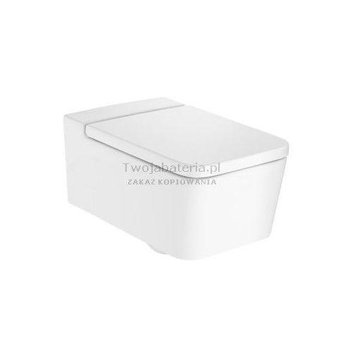 Roca inspira square rimless miska wc podwieszana a346537000