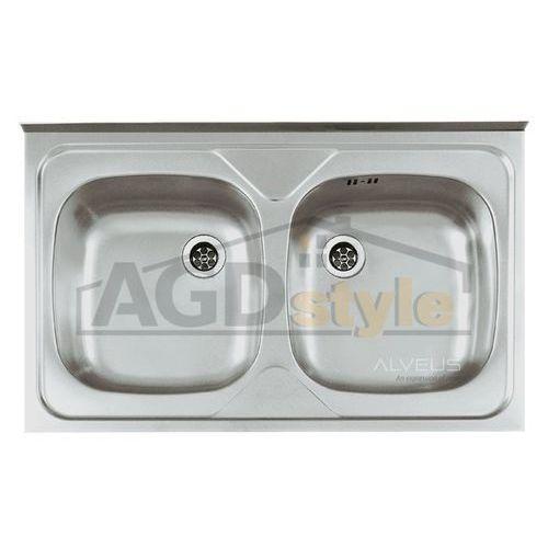 Alveus Zlewozmywak compact 20 special (80x50) stal satyna (1103104) *** zamów wycięcie otworów gratis ***