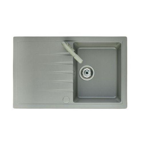 Inpero Zlewozmywak granitowy z baterią lotus (5903240513512)