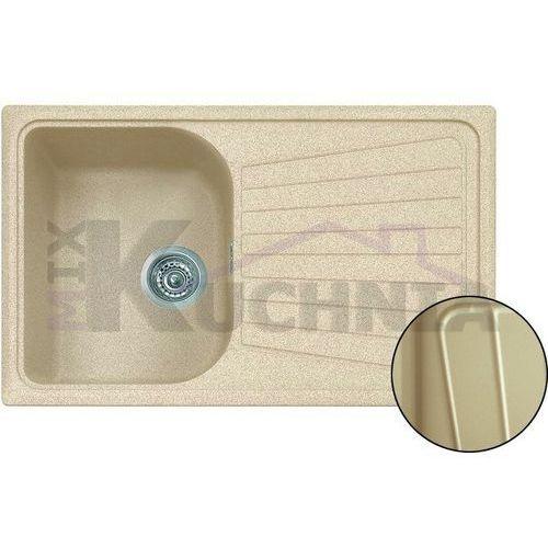 Zlewozmywak spazio lv/1 beżowy metalic (45) marki Plados