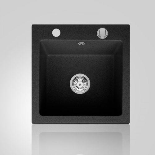 Śmigielski Zlewozmywak milano 50 czarny metalik