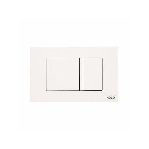 przycisk spłukujący play do stelaża koło technic gt do wc, biały 94152001 marki Koło