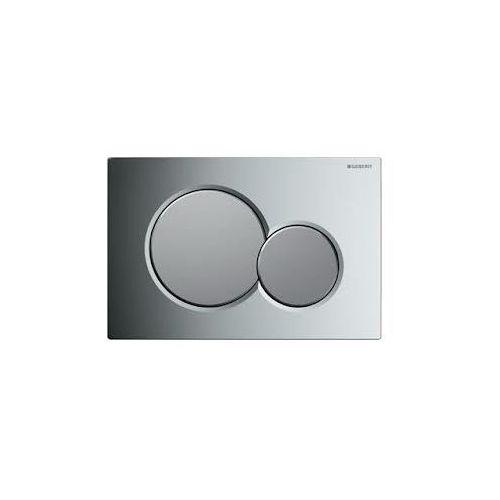 przycisk uruchamiający geberit sigma01, przedni (up320) chrom/chrom mat 115.770.ka.5 marki Geberit
