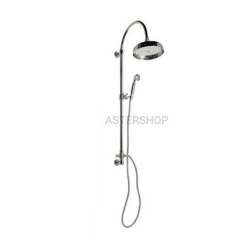 VANITY zestaw natryskowy z rączką prysznicową do baterii podtynkowej chrom SET051, SET051