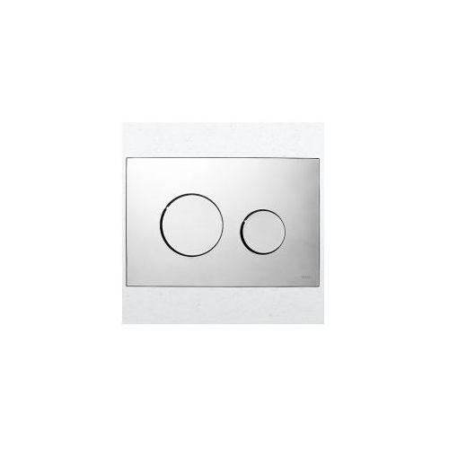przycisk spłukujacy teceloop do wc chrom połysk 9240626 marki Tece