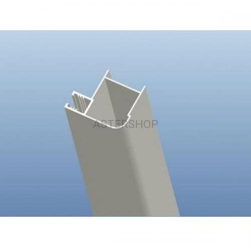 Sanotechnik Profil narożny chromowany, 3,5x4,2x195 cm d2000