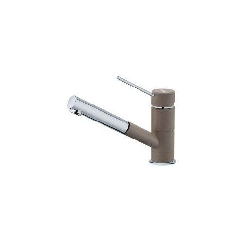 Bateria FRANKE Sirius Top Pull - Out CHROM/MOKKA 115.0476.654 wyciągana wylewka, 115.0476.654