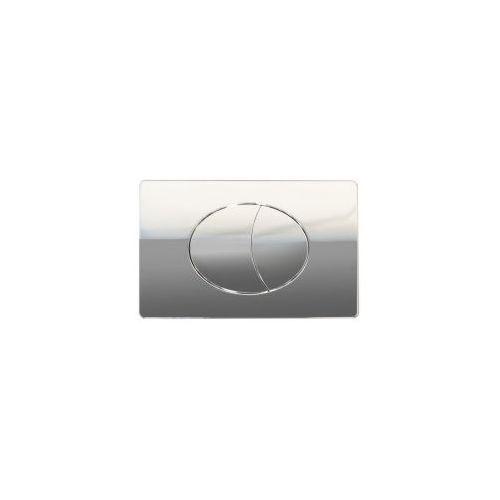 CERSANIT przycisk Slim&Silent Ege chrom błyszczący K97-230